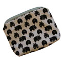 Small Hippo Print Pouch