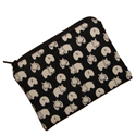 Medium Hippo Print Pouch