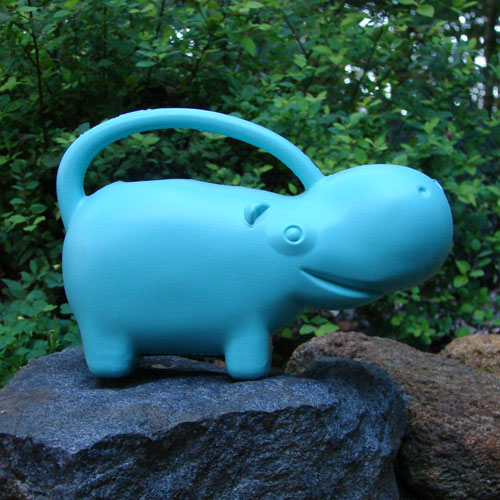 Cute Hippo Watering Can - Click Image to Close