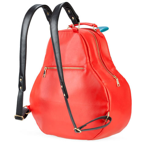 Red & Blue Hippo Backpack - Click Image to Close