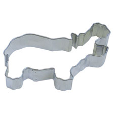 Large Hippo Cookie Cutter