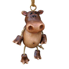 Holiday Hippo Ornament