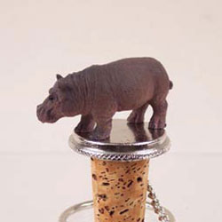Hippo Bottle & Wine Stopper