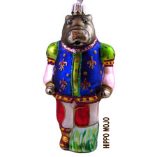 Horace The Hippo Ornament