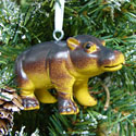 Chubby Hippo Ornament